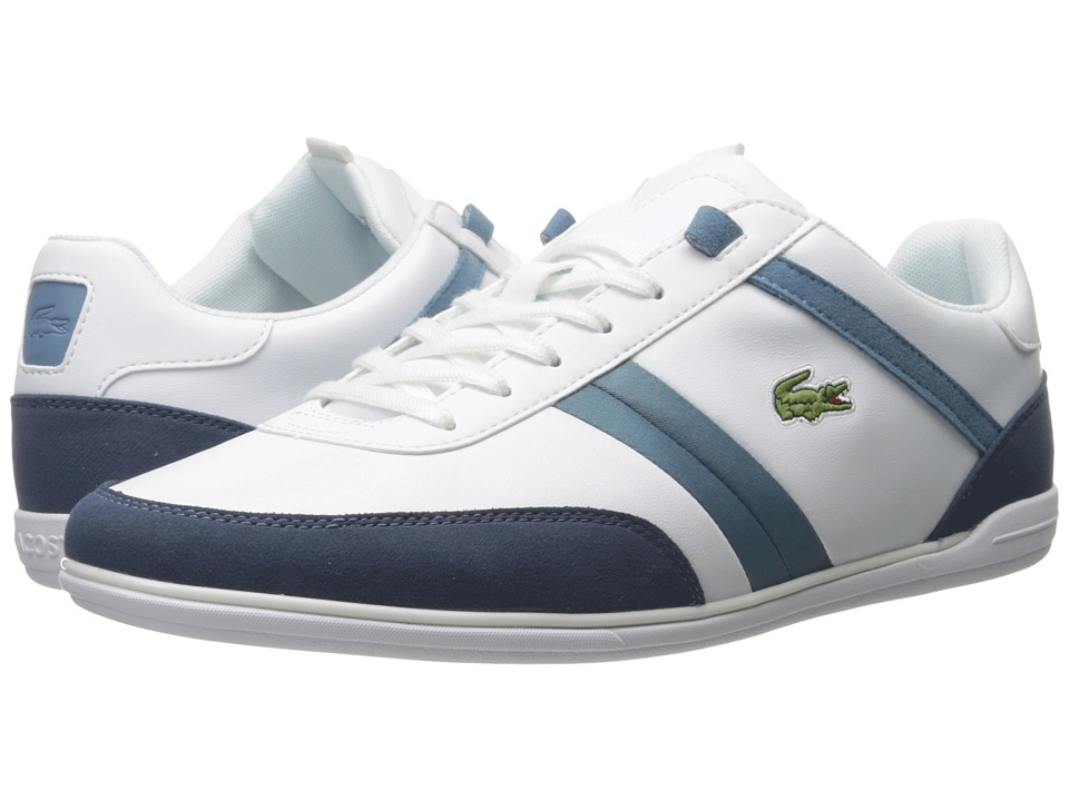 Lacoste - Giron 316 1 (White) Men's Shoes
