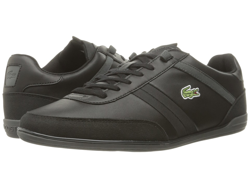 Lacoste - Giron 316 1 (Black) Men's Shoes