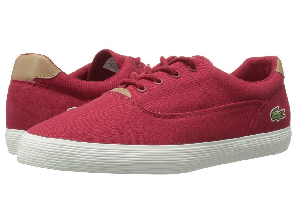 Lacoste - Jouer 316 1 (Red) Men's Shoes