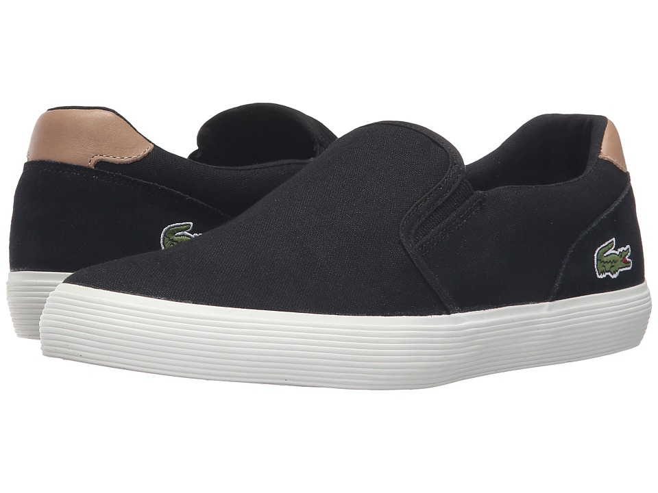 Lacoste - Jouer Slip-On 316 1 (Black) Men's Slip on Shoes
