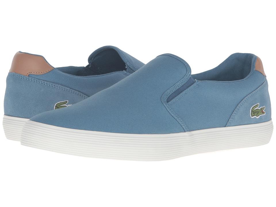Lacoste - Jouer Slip-On 316 1 (Blue) Men's Slip on Shoes