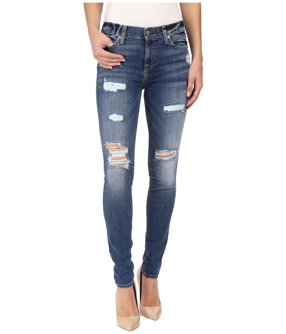 7 For All Mankind - The Skinny w/ Destroy in Abbey Road (Abbey Road) Women's Jeans