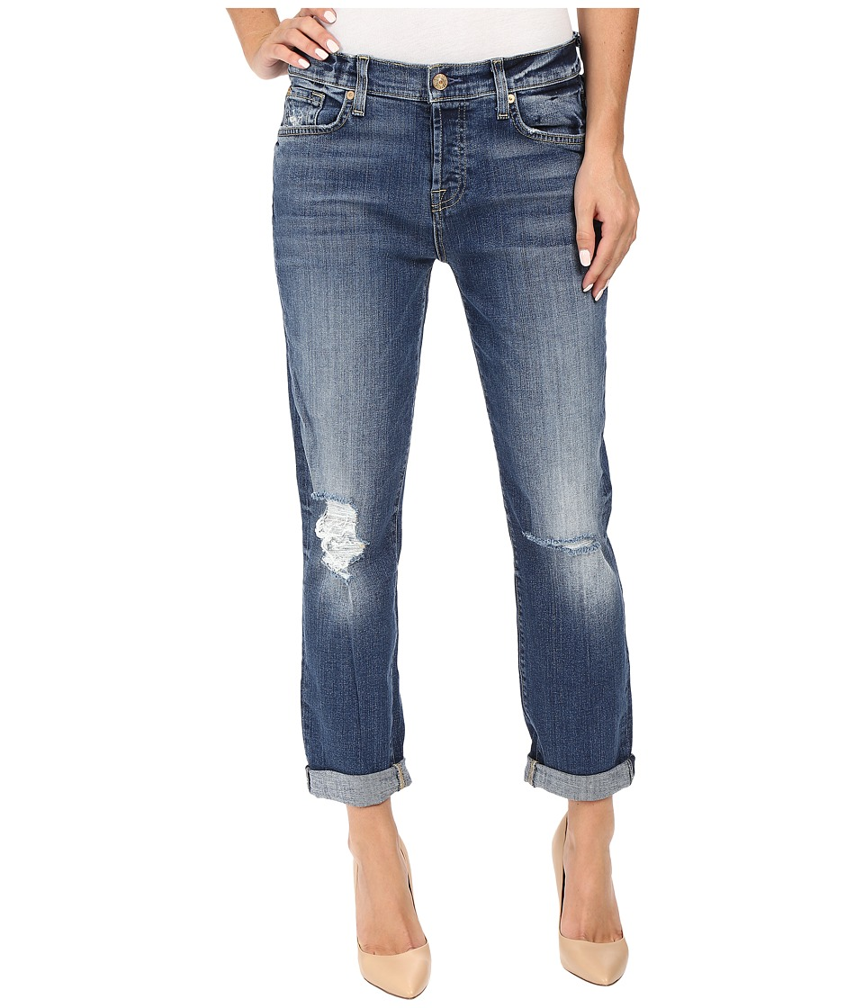 7 For All Mankind - Josefina w/ Knee Holes in Abbey Road (Abbey Road) Women's Jeans