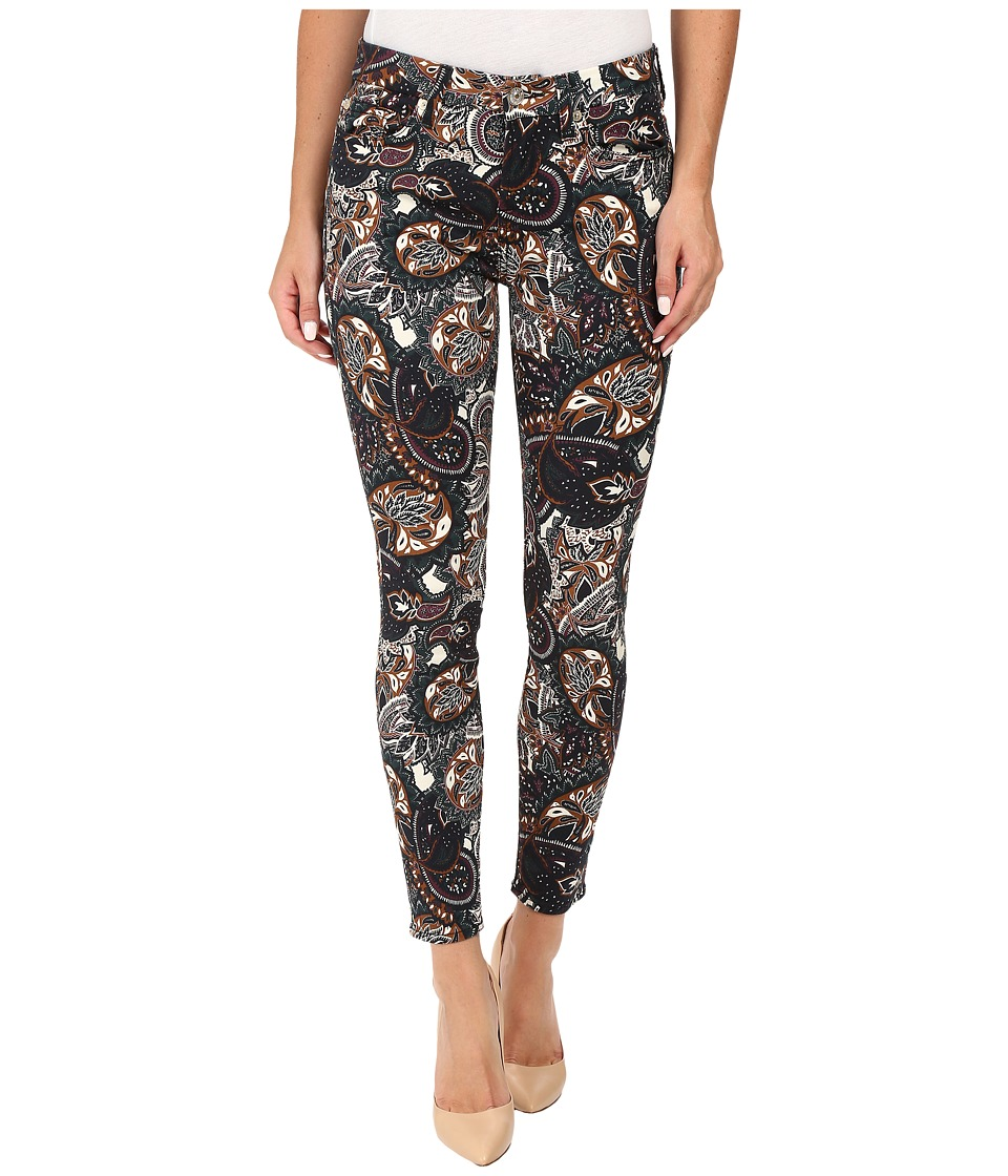 7 For All Mankind - The Ankle Skinny in Underground Paisley (Underground Paisley) Women's Jeans