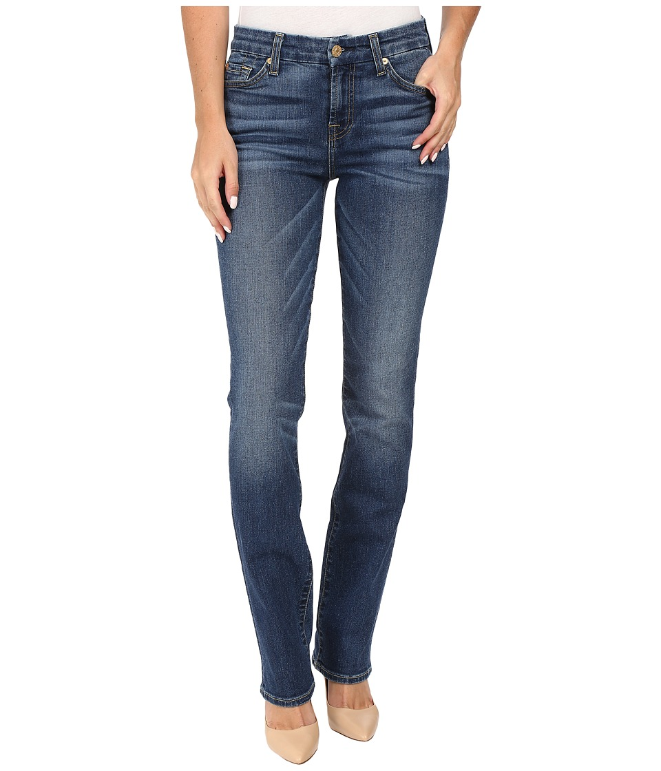 7 For All Mankind - Kimmie Straight in Medium Melrose (Medium Melrose) Women's Jeans