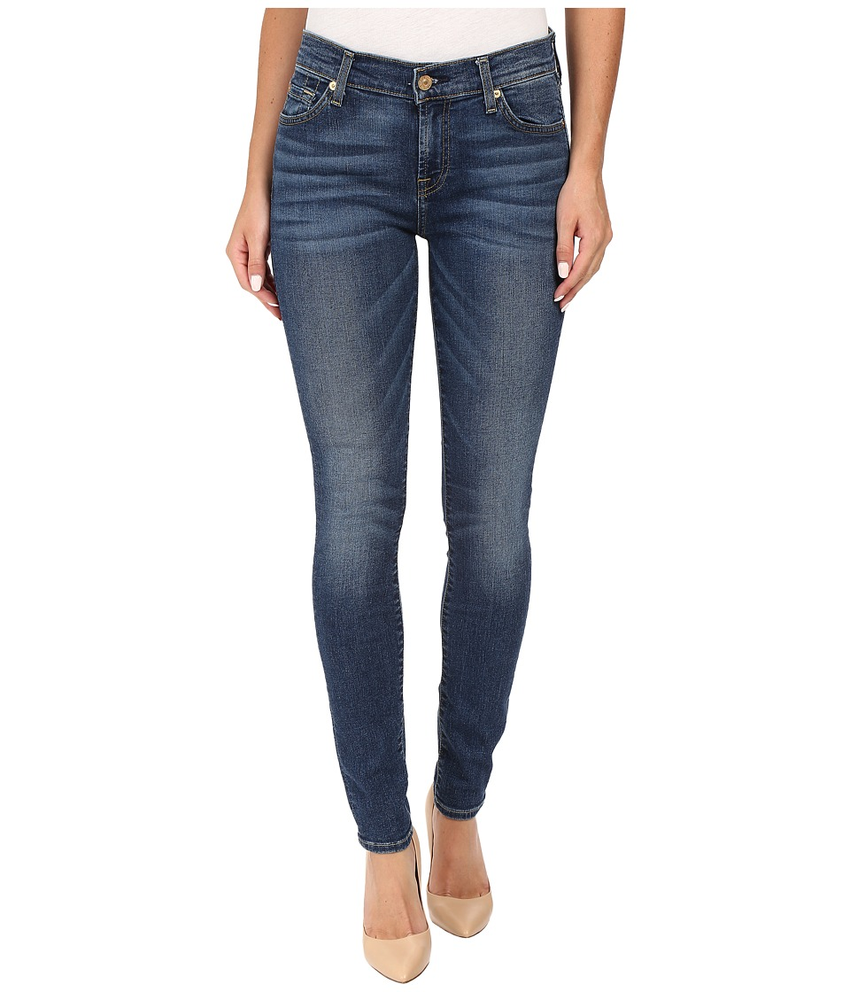 7 For All Mankind - The Skinny in Medium Melrose (Medium Melrose) Women's Jeans
