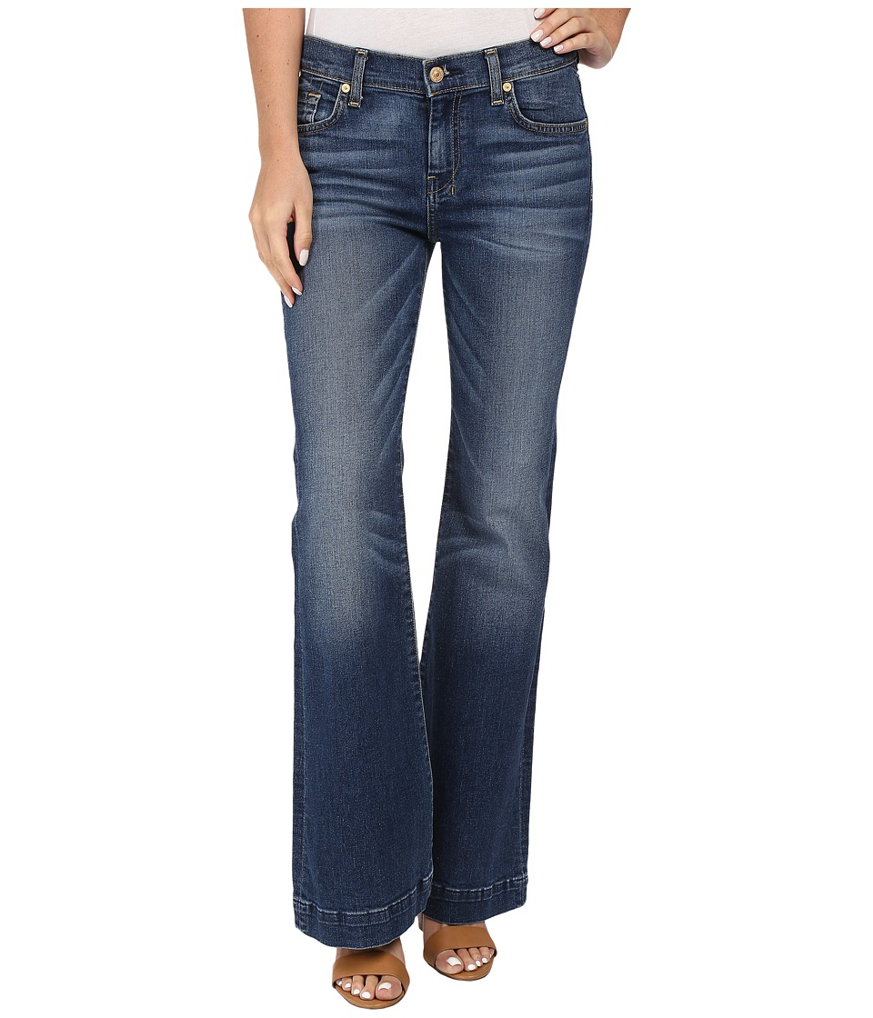 7 For All Mankind - Tailorless Dojo in Medium Melrose (Medium Melrose) Women's Jeans