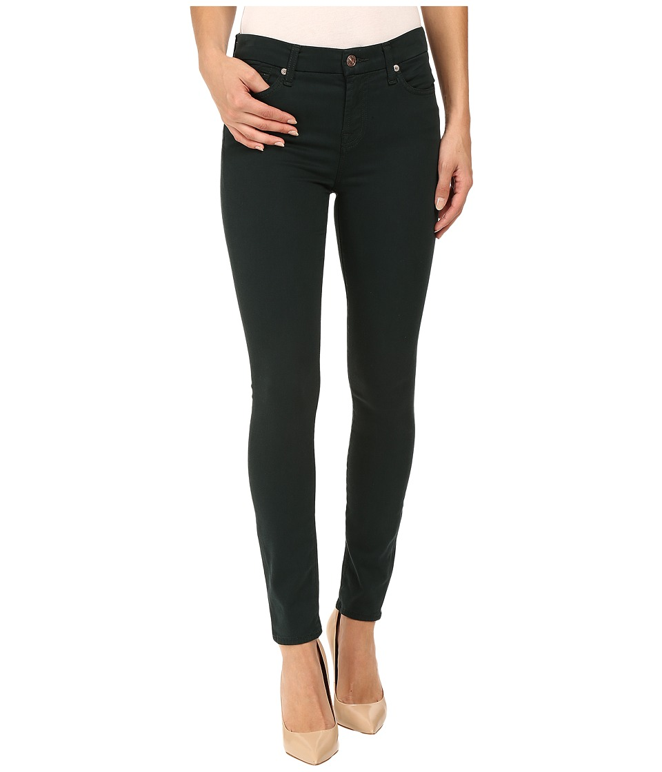7 For All Mankind - The Ankle Skinny in Dark Forest (Dark Forest) Women's Jeans