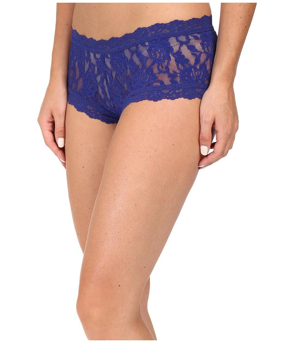 Hanky Panky - Signature Lace Boyshort (Midnight Blue) Women's Underwear