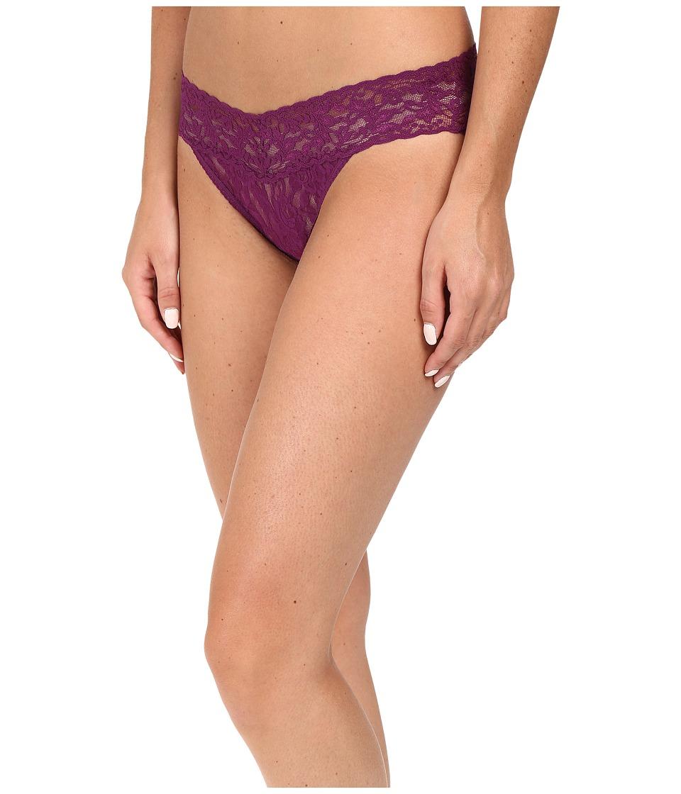 Hanky Panky - Signature Lace V-Kini (Fine Wine) Women's Underwear