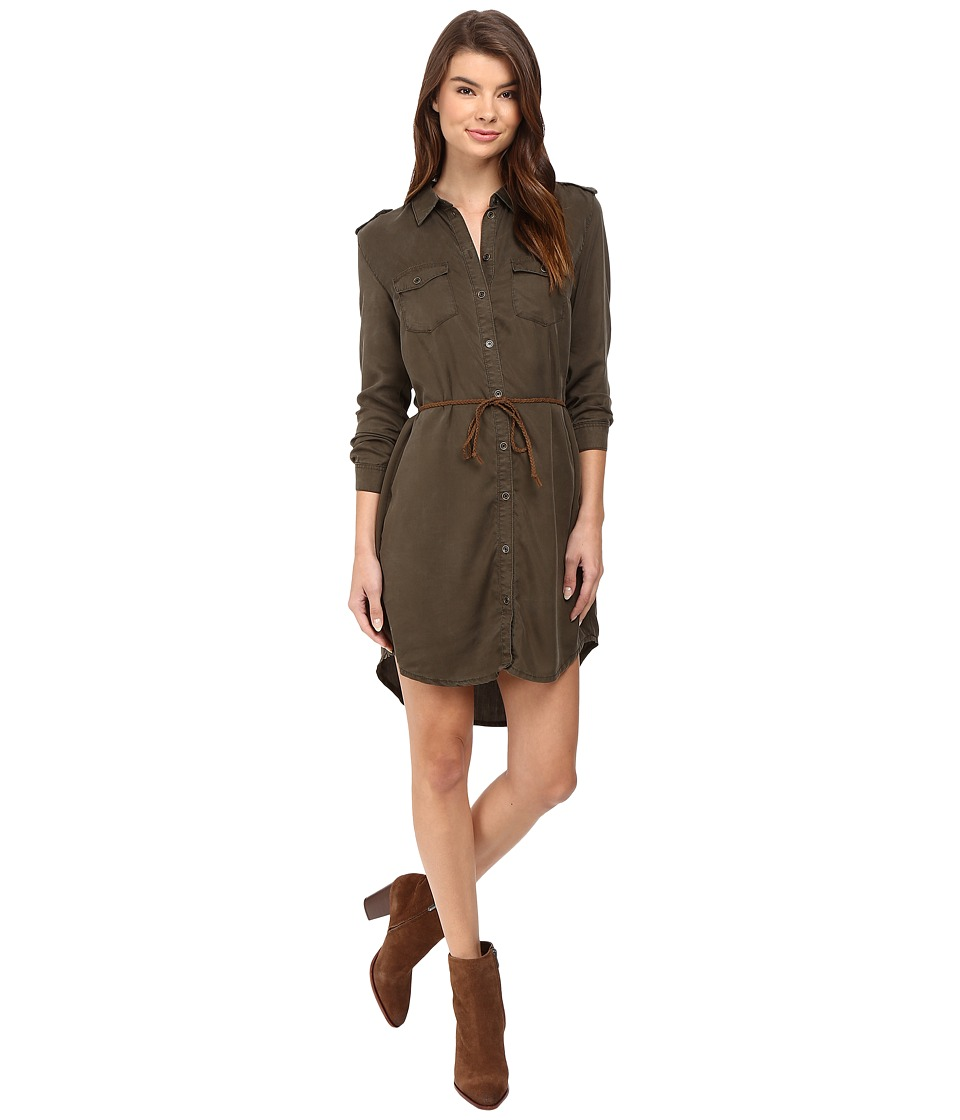 ONLY - Arizona Lyocell Belt Dress (Tarmac) Women's Dress