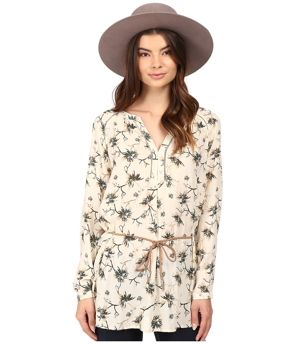 ONLY - Louis Keen on Flower Tunic (Whitecap Gray) Women's Clothing