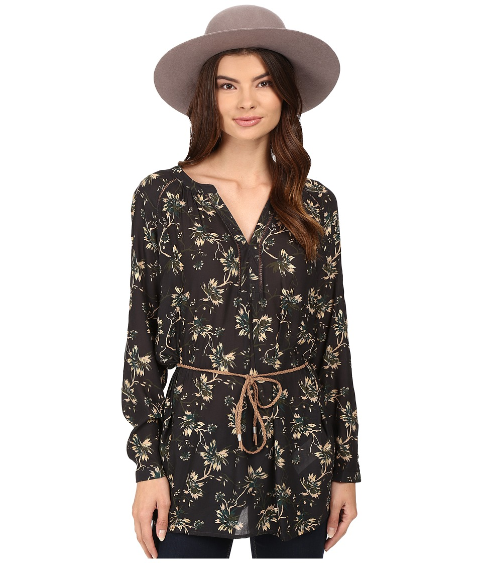 ONLY - Louis Keen on Flower Tunic (Jet Set) Women's Clothing