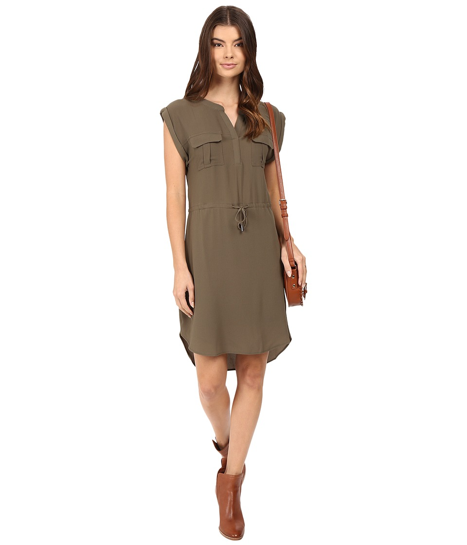 ONLY - Vertigo Short Dress (Tarmac) Women's Dress