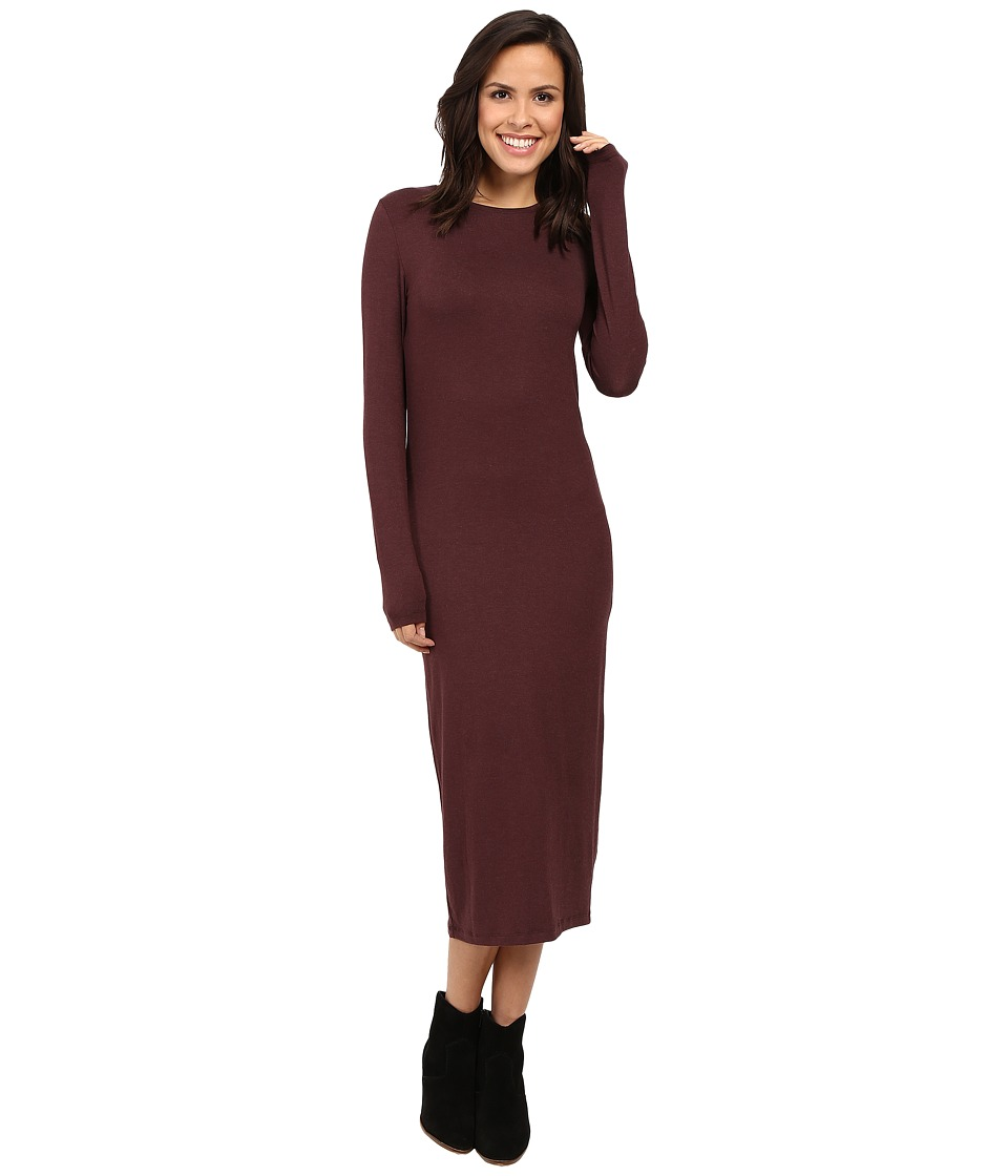 ONLY - June O-Neck Dress (Fudge) Women's Dress