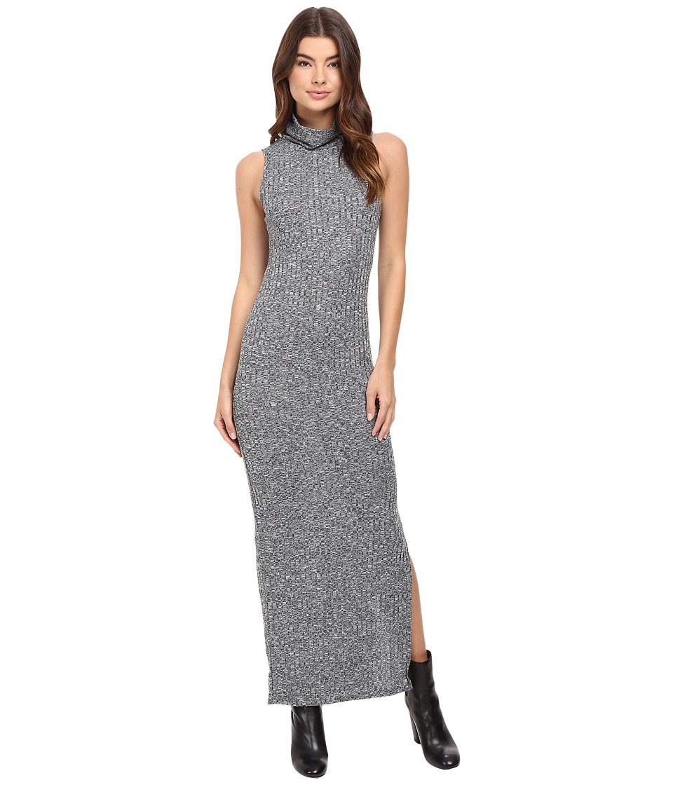 ONLY - Axel Long Dress (Light Gray Melange) Women's Dress