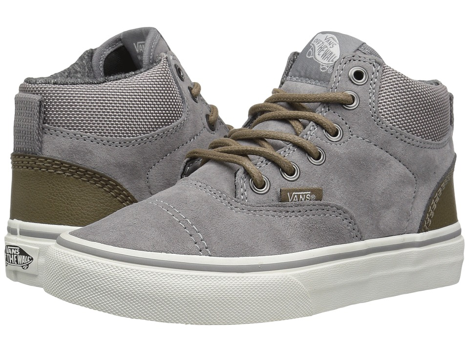 Vans Kids - Era-Hi (Little Kid/Big Kid) ((Suede) Frost Gray/Blanc De Blanc) Boys Shoes