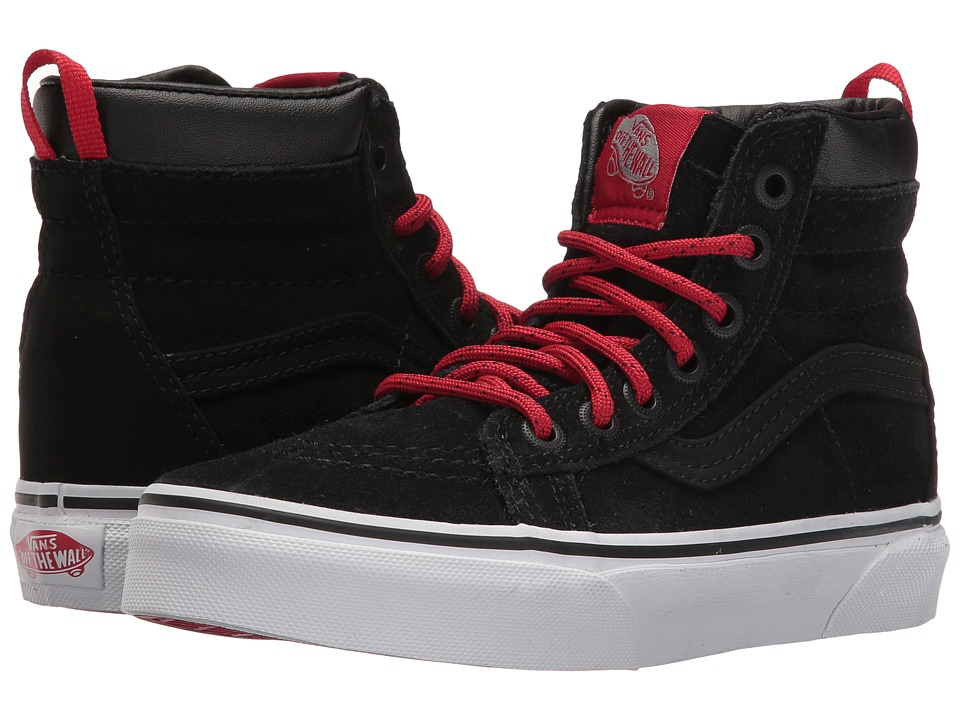 Vans Kids SK8-Hi MTE (Little Kid/Big Kid) ((MTE) Black/Racing Red) Boys Shoes