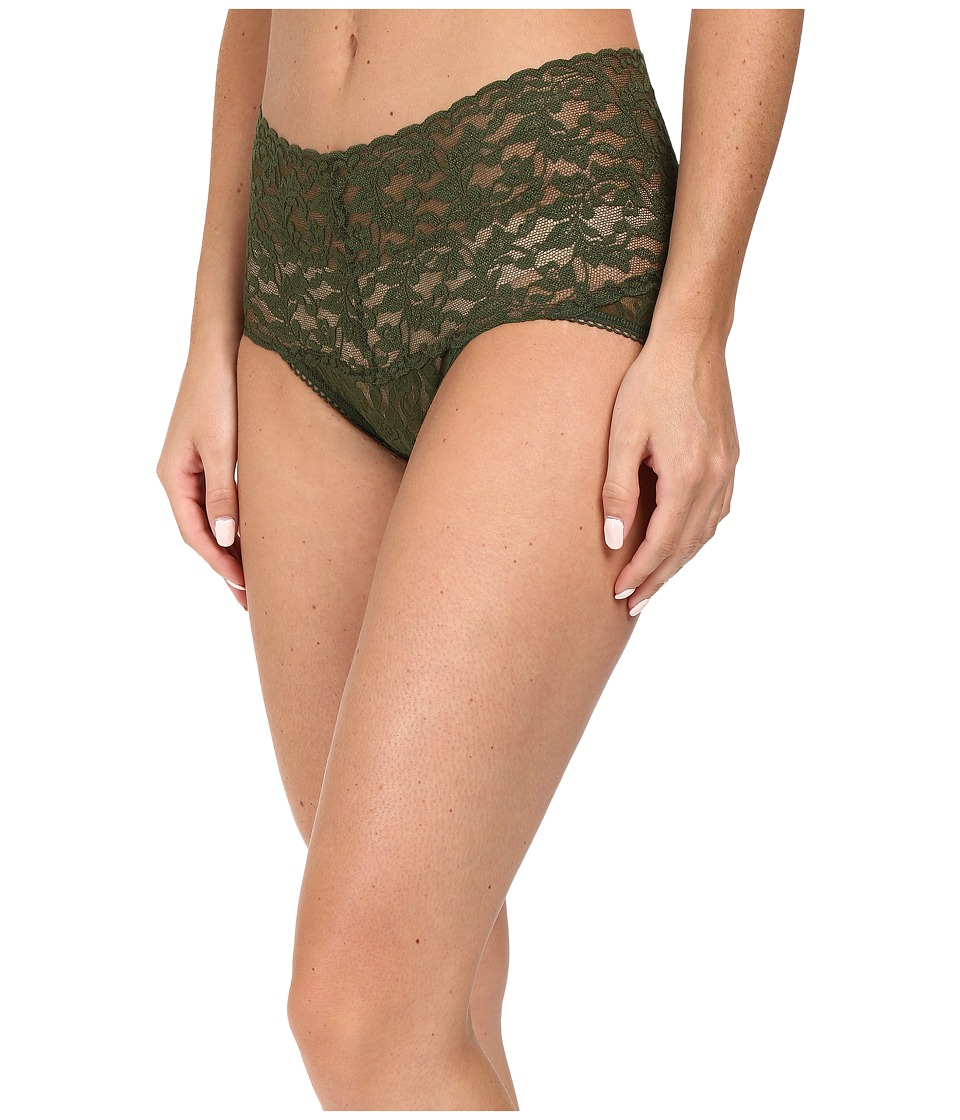 Hanky Panky - Signature Lace Retro V-Kini (Woodland Green) Women's Underwear