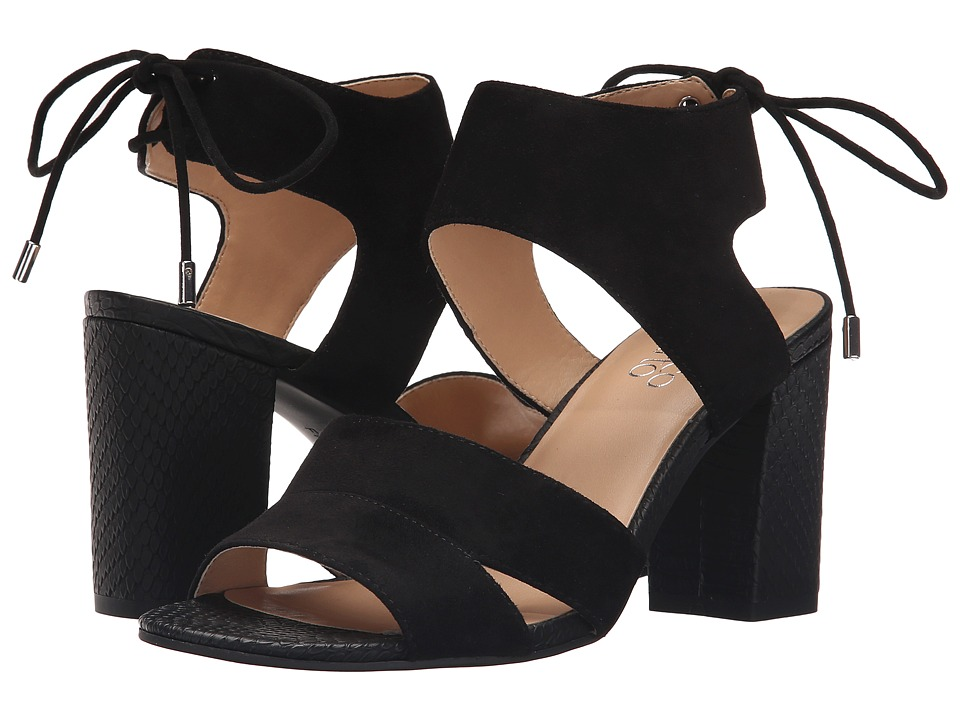 Franco Sarto - Gem (Black) Women's Dress Sandals
