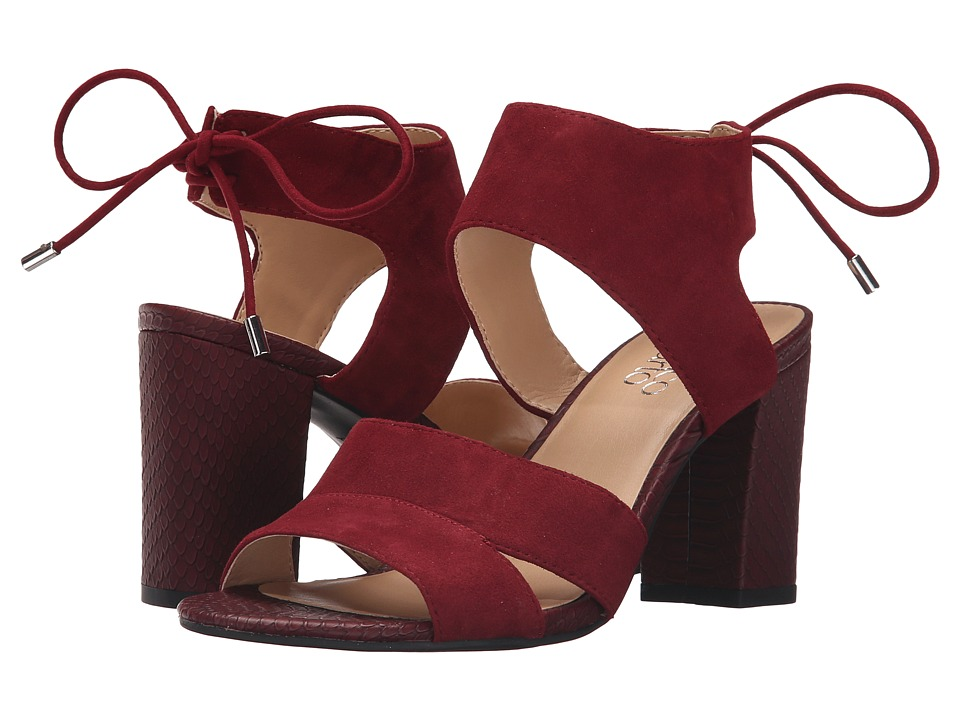 Franco Sarto - Gem (Bordo) Women's Dress Sandals