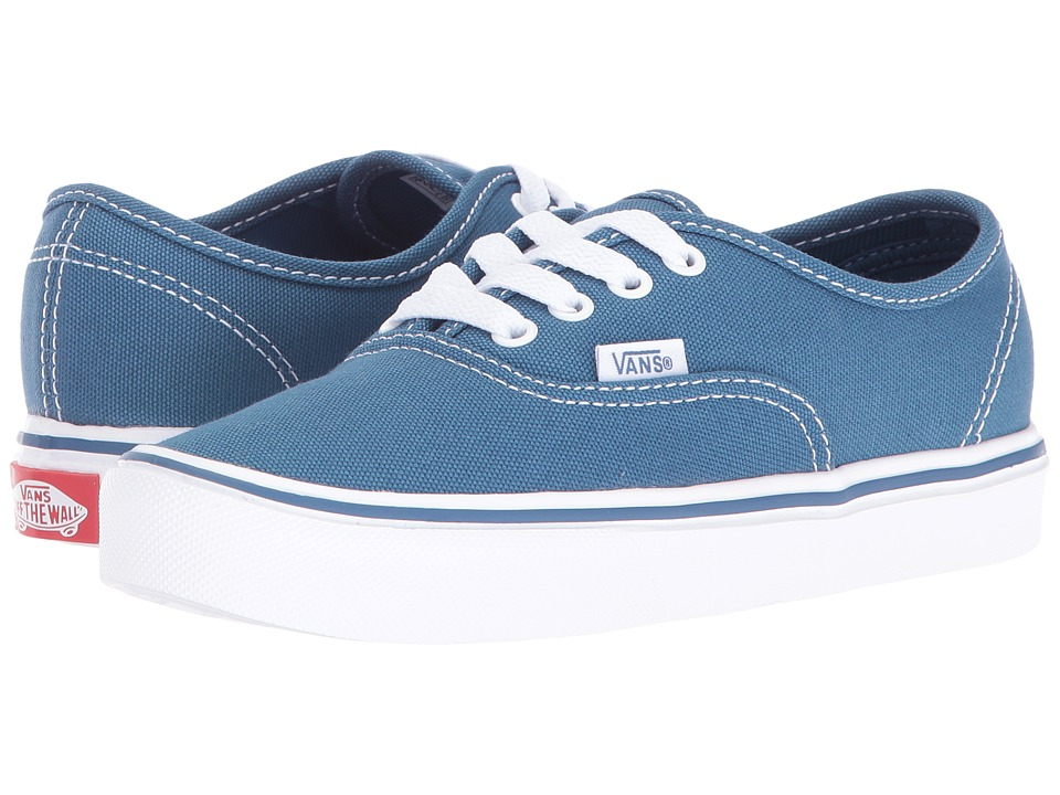 Vans Kids - Authentic Lite (Little Kid/Big Kid) (STV Navy/True White) Kids Shoes