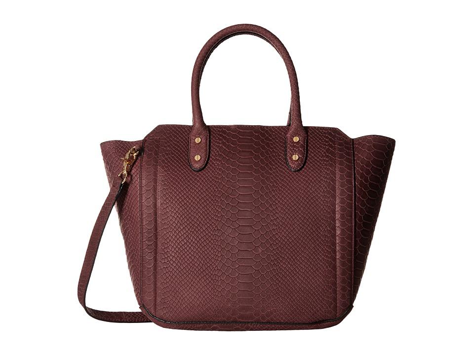 Ivanka Trump - Tribeca Solutions Satchel (Garnet) Satchel Handbags