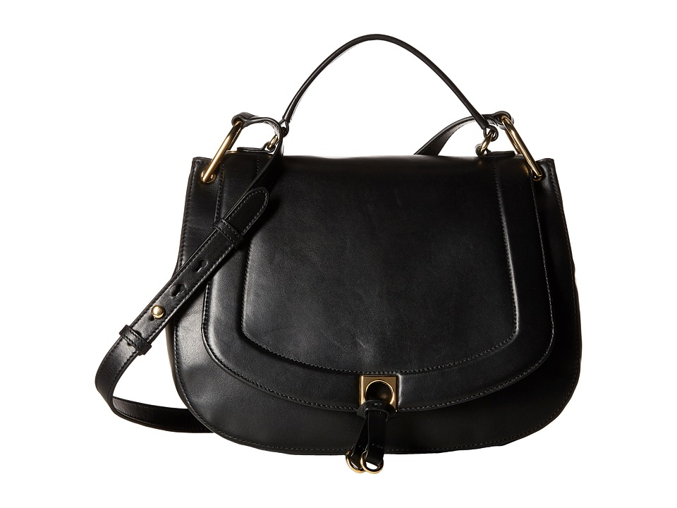 Ivanka Trump - Claudia Satchel (Black) Satchel Handbags