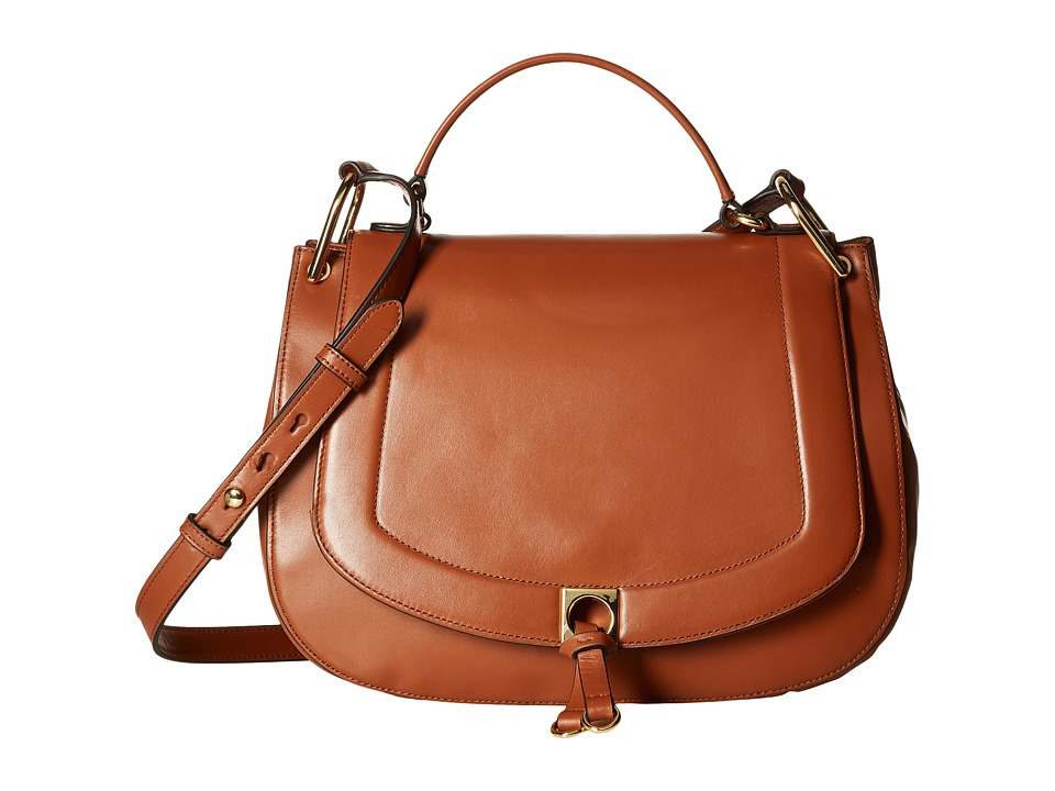 Ivanka Trump - Claudia Satchel (Saddle) Satchel Handbags