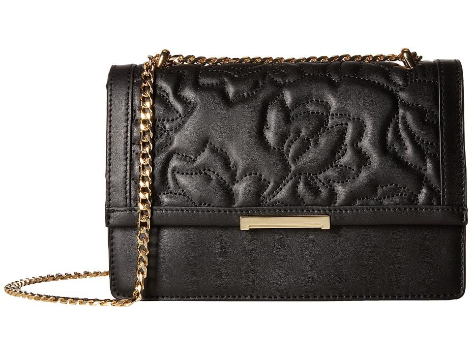 Ivanka Trump - Mara Cocktail Bag (Black Quilted Floral) Bags