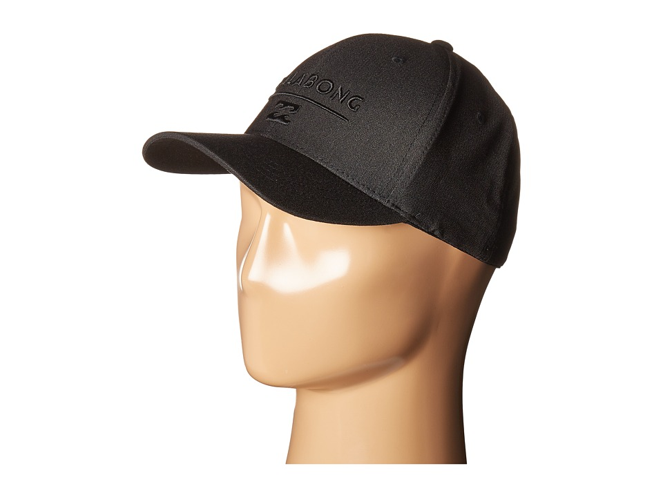 Billabong - Unity Flexfit Cap (Black) Caps