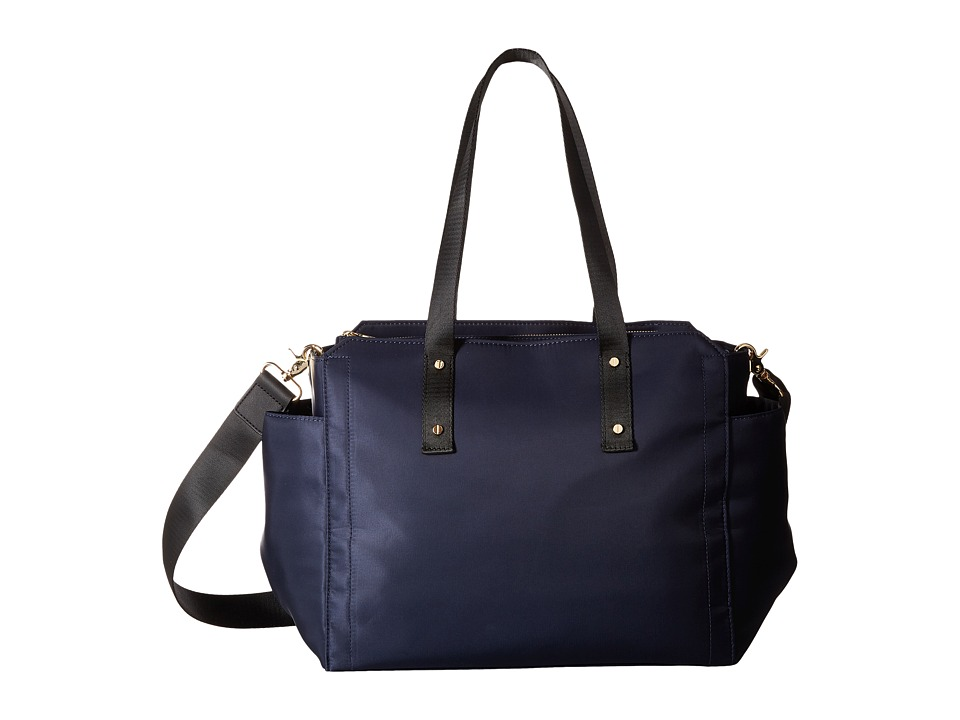 Ivanka Trump - Soho Solutioned Oriented Baby Bag (Navy Nylon) Shoulder Handbags