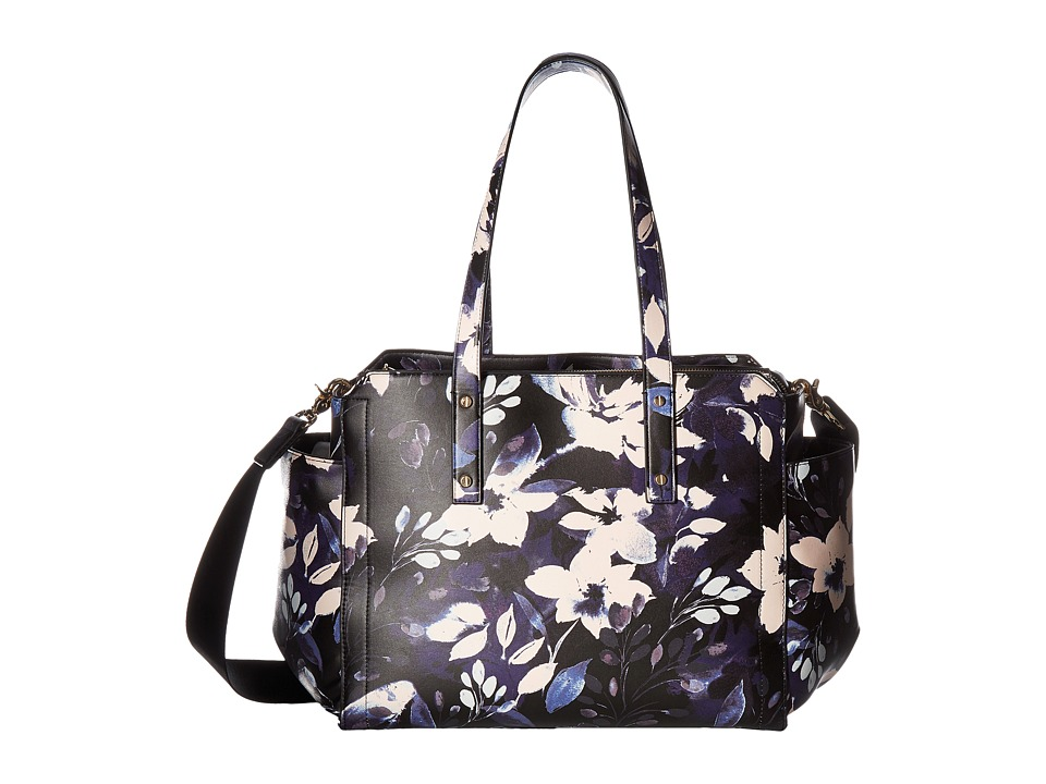 Ivanka Trump - Soho Solutioned Oriented Baby Bag (Night Garden Print) Shoulder Handbags