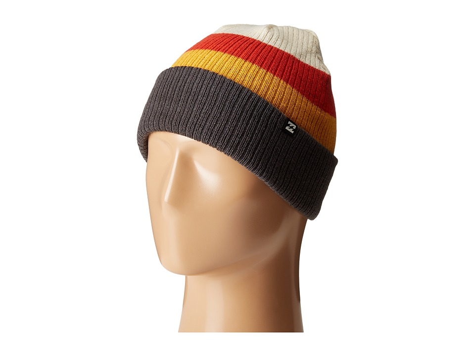 Billabong - Tribong Reversible Beanie (Red Orange) Beanies