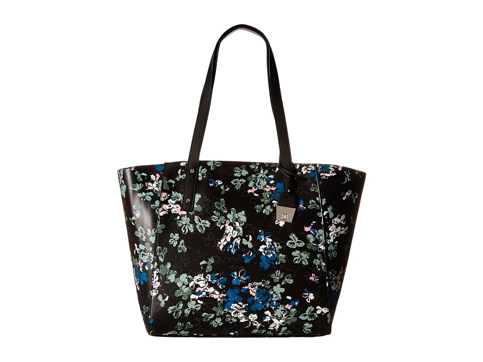 Ivanka Trump - Alexey Seasonal Shopper (Black Ditsy Floral) Handbags