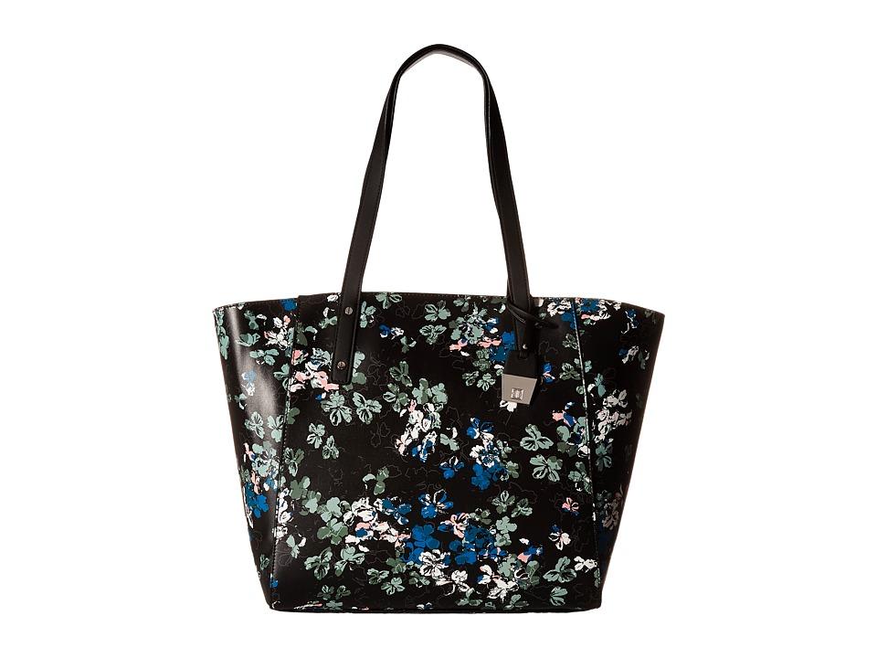 Ivanka Trump - Alexey Seasonal Shopper (Black Ditsy Floral) Handbags