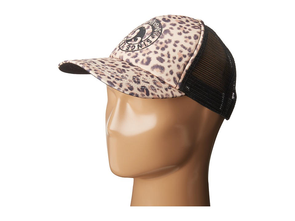 Billabong - Heritage Mashup Hat (Cheetah) Baseball Caps
