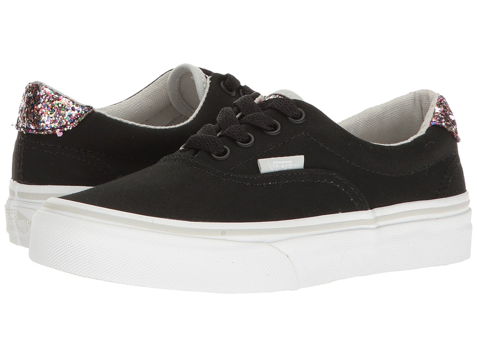 Vans Kids - Era 59 (Little Kid/Big Kid) ((Glitter Pop) Black) Girls Shoes