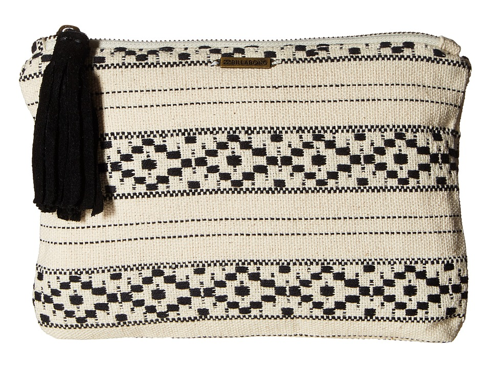 Billabong - Salty Water Wallet (Black/White) Wallet Handbags