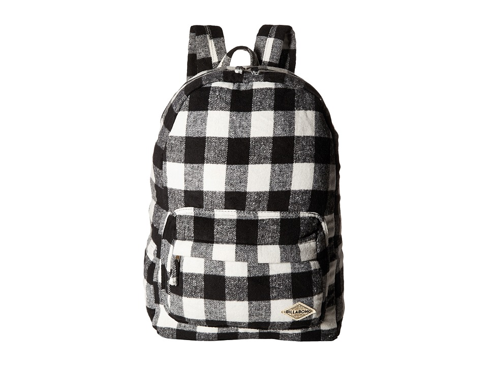 Billabong - Hand Over Love Backpack (Vintage Black/White) Backpack Bags