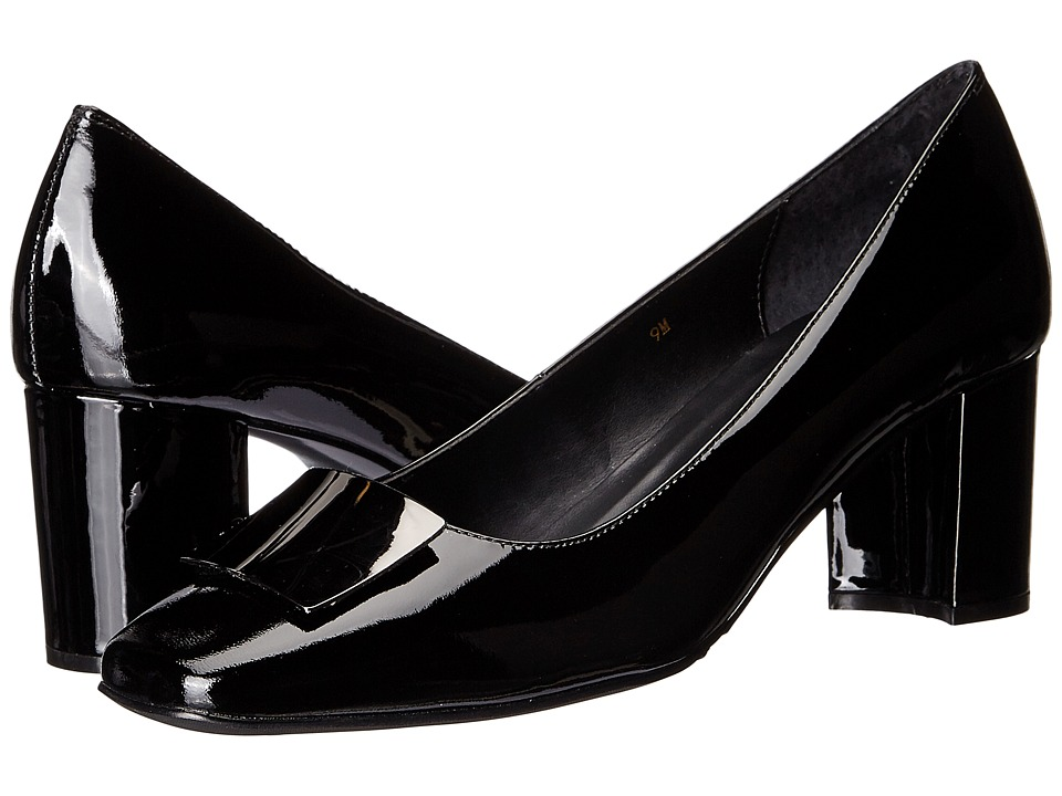 Vaneli - Eara (Black Patent) Women's 1-2 inch heel Shoes