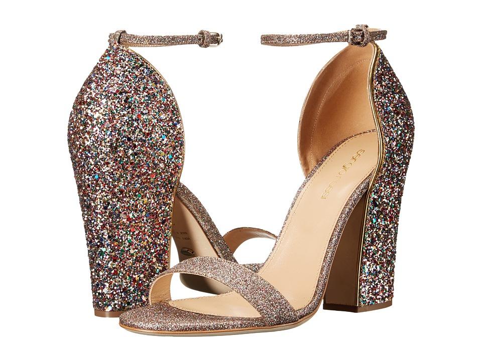 Sergio Rossi Freda (Crazy Gold Glitter) High Heels