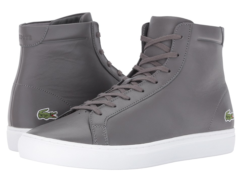 Lacoste L.12.12 Mid 316 1 (Dark Grey) Men