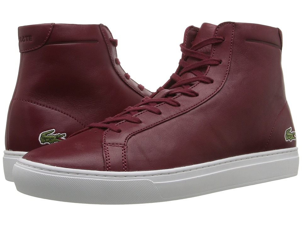 Lacoste L.12.12 Mid 316 1 (Dark Red) Men
