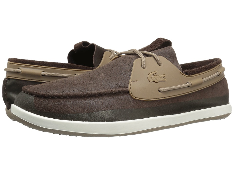 Lacoste L.Andsailing 316 2 (Dark Brown) Men