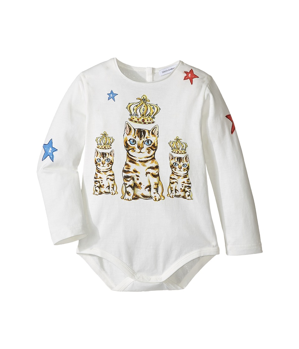 Dolce & Gabbana Kids - City Wonderland One-Piece (Infant) (White Print) Girl's Jumpsuit & Rompers One Piece