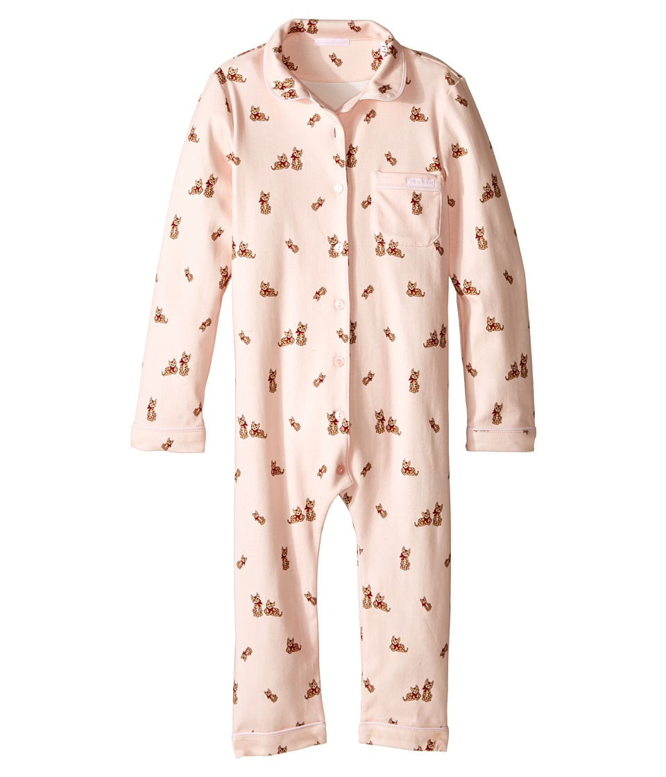 Dolce & Gabbana Kids - Zambia Pajama Set (Infant) (Light Pink Print) Girl's Jumpsuit & Rompers One Piece