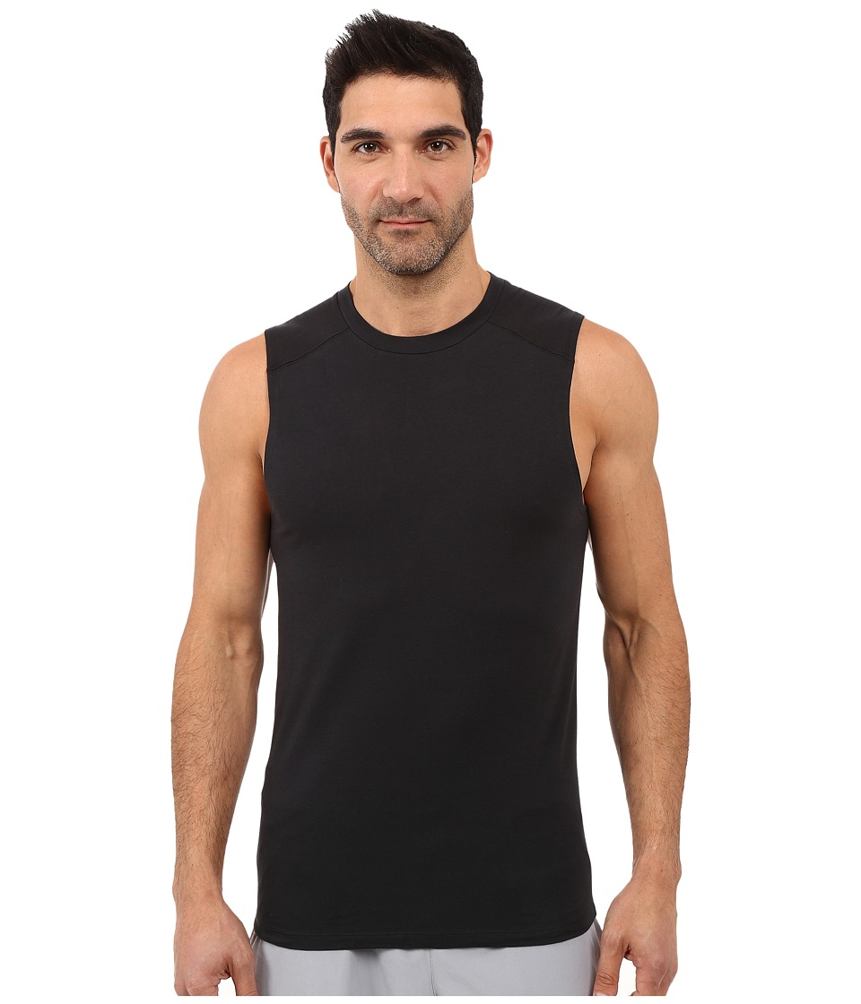 Diesel - Motion Division Muscle Tank Top LAMI (Black) Men's Sleeveless