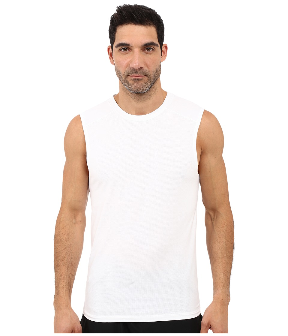 Diesel - Motion Division Muscle Tank Top LAMI (Bright White) Men's Sleeveless