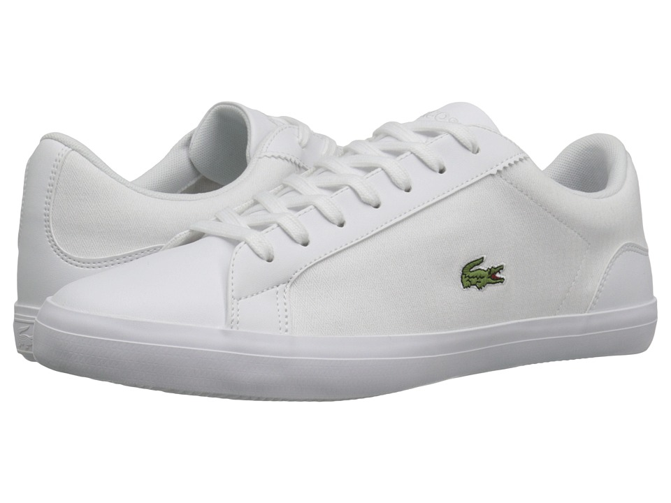 Lacoste - Lerond 316 1 (White) Men's Shoes
